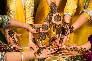 Diwali henna