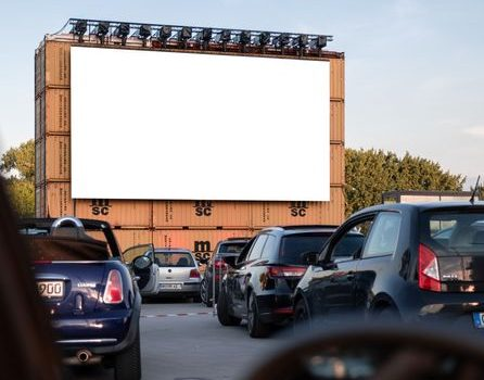 drive-in during the pandemic